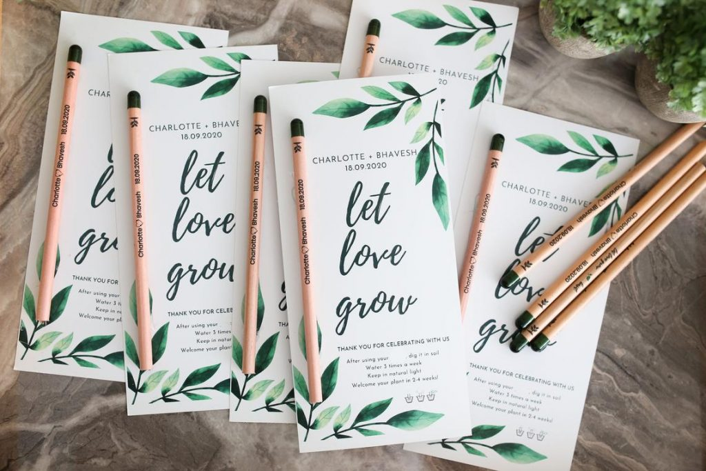 wedding favor seeds