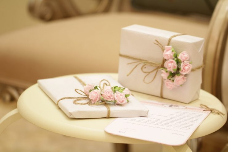wedding gifts no registry