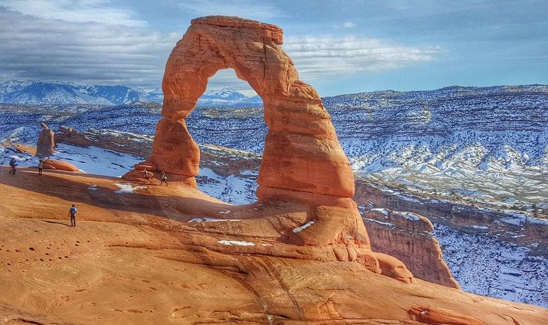 Utah red rock formations