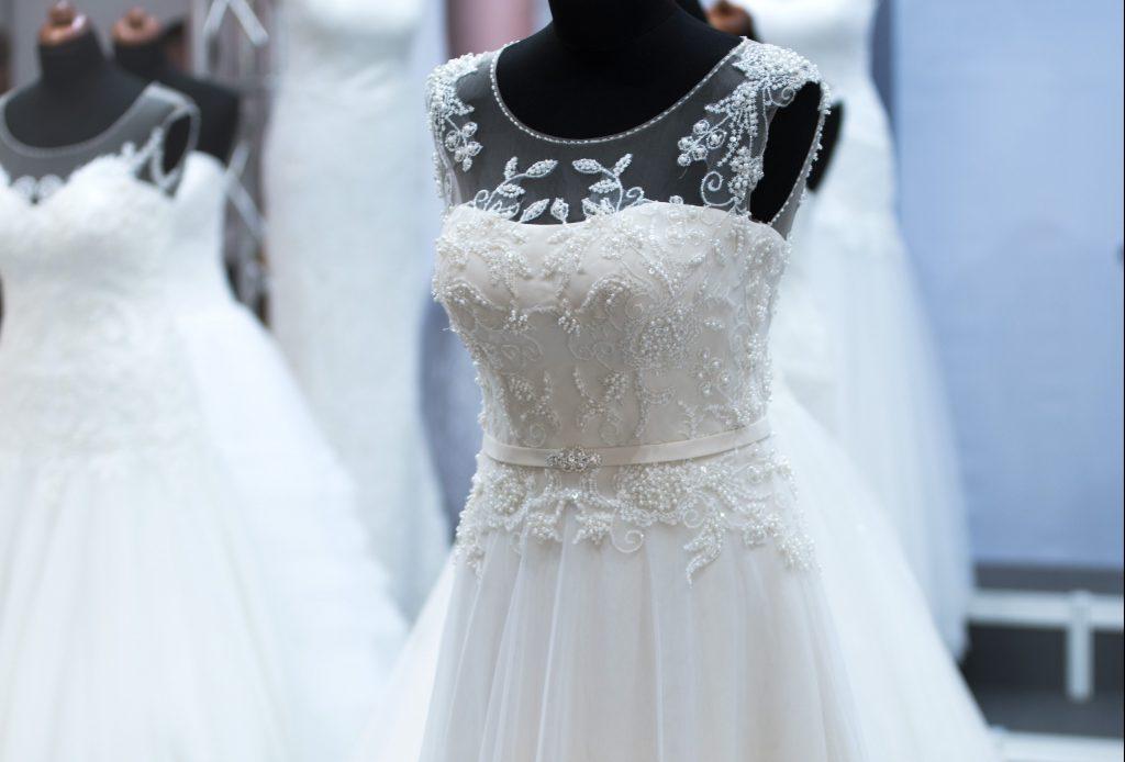 buying a wedding dress