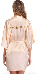 bridesmaid robe