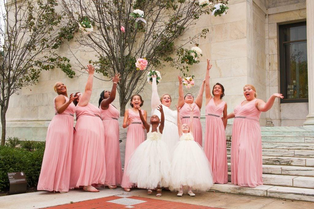 bridesmaid duties