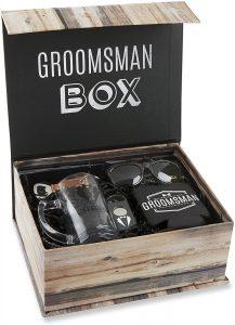 groomsmen gift box