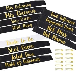 bachelorette sashes