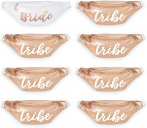 bride tribe fanny packs