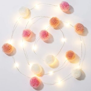 pom string lights