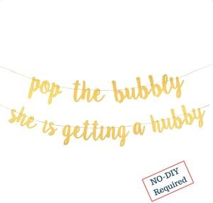 pop bubbly sign