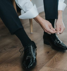 preparing for a mother son wedding dance