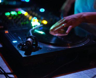 DJ playing some wedding dance songs