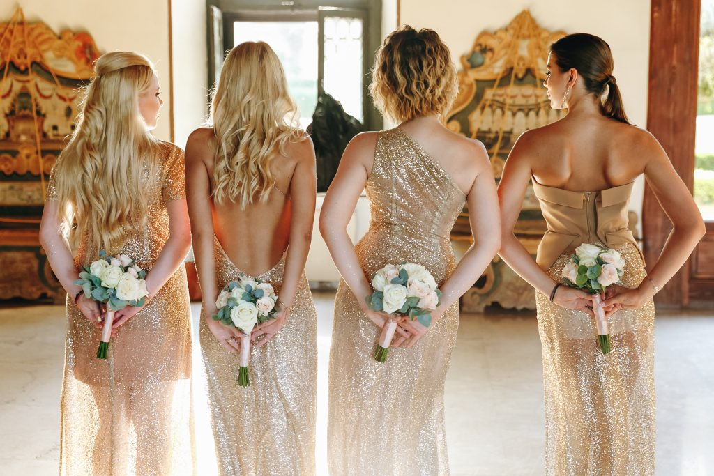 average number of bridesmaids