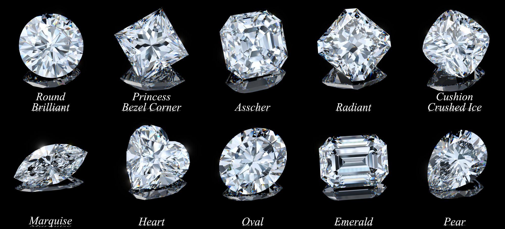 diamond cut examples chart