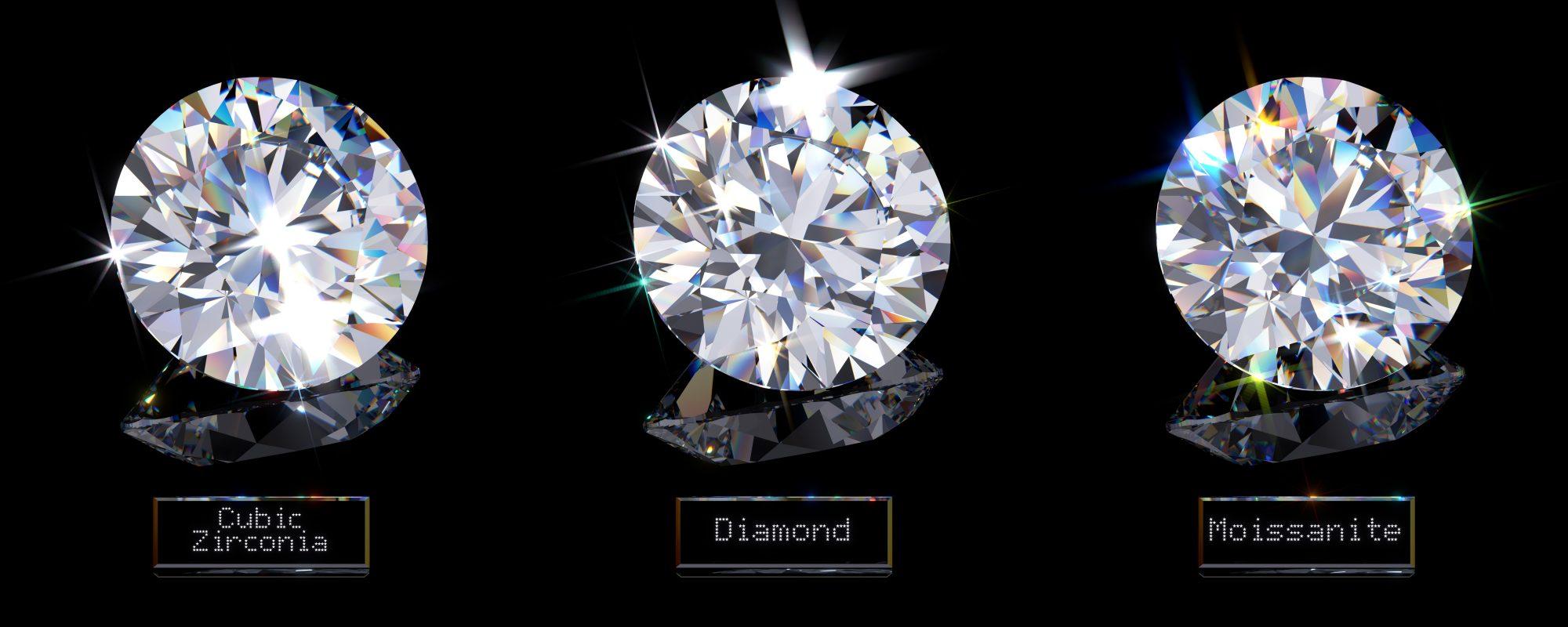diamond engagement ring alternative