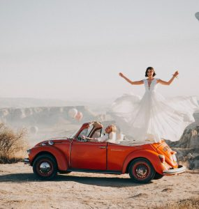one of many desert wedding photos