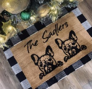 family pet doormat