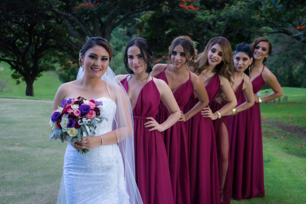 a photo of bridal party hair and makeup
