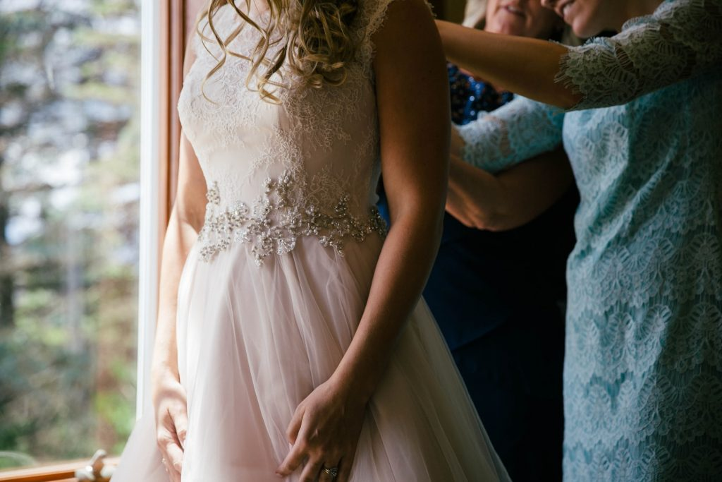 wedding attire protected by wedding event insurance