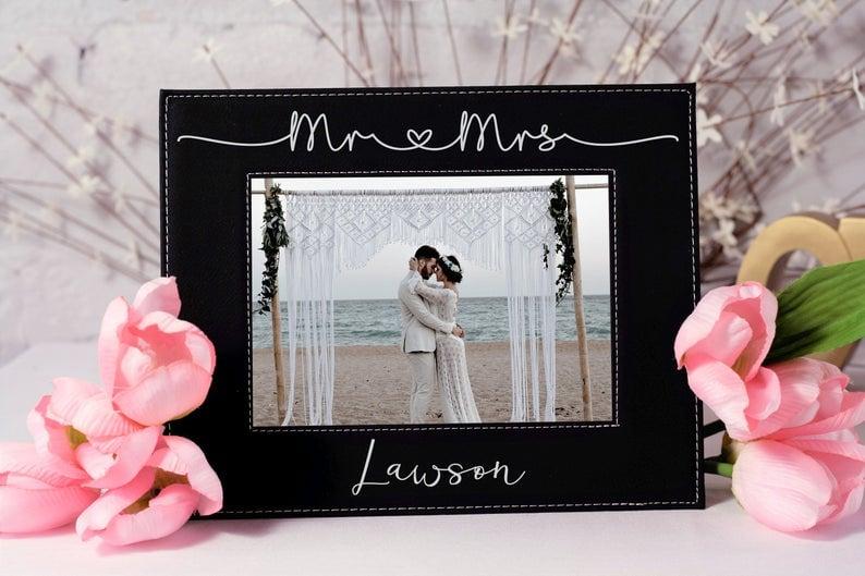 mr and mrs frame