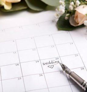 plan a wedding in 3 months