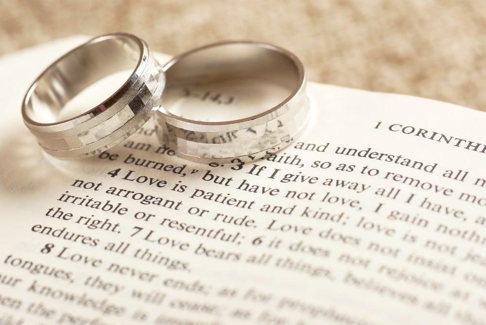 wedding rings on bible verses