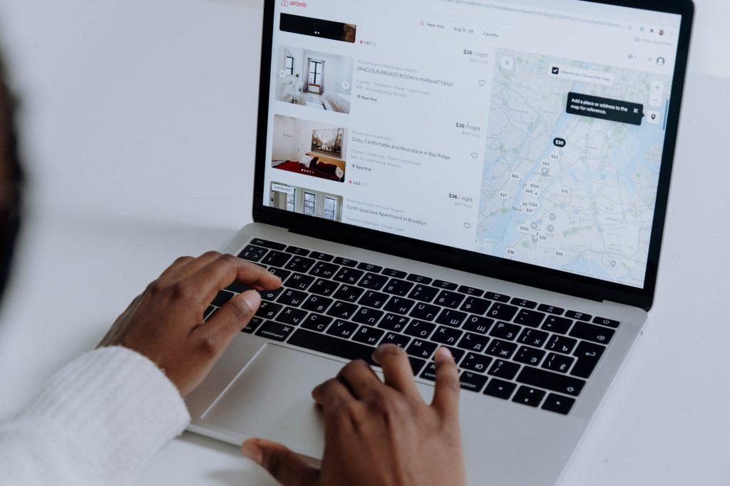 looking at airbnb wedding listings