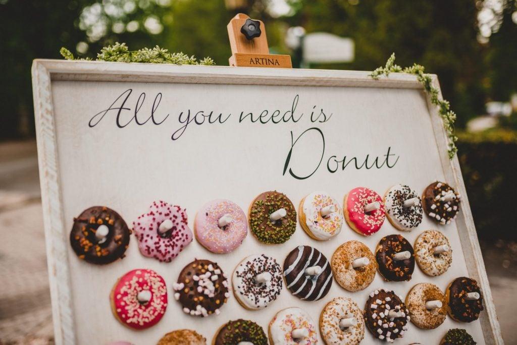 donut wall decor