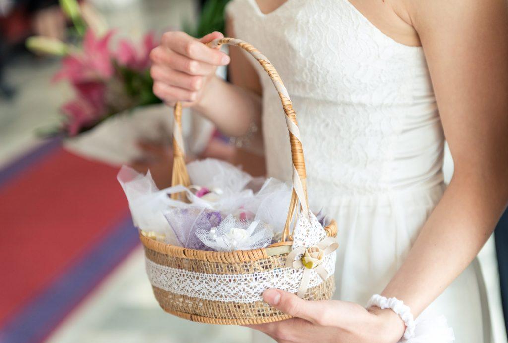 easter basket bride